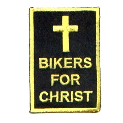 Embroidered Christian Patch Bikers For Christ Patch