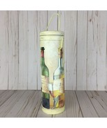 Tri Coastal 2002 Art in Motion Wine Carrier Tube Bottle Holder Gift Box ... - $15.20