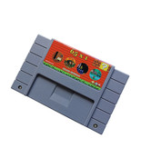 super snes game cartrige 65 in 1 game cartrige 30games - $25.99