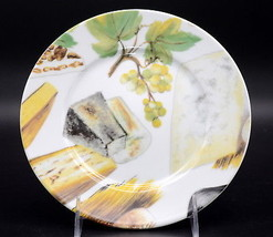 St. Limoges * SALAD PLATE * Green Grapes & Cheese, MINT! - $9.99
