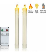 Set of 2 Flameless Taper Candles - $39.00