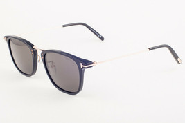 Tom Ford BEAU Shiny Black / Gray Sunglasses TF672 01A 672 53mm - $195.02