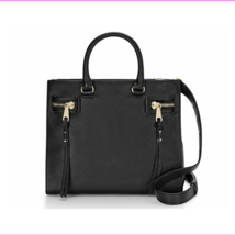 Rebecca Minkoff HF26IPBS44 Geneva Grained Cowhide Black Women's Bag - $176.01