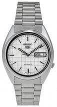 Seiko SNXF05K1 Seiko 5 automatic men's watch stainless steel bracelet 21 jewels - $119.00