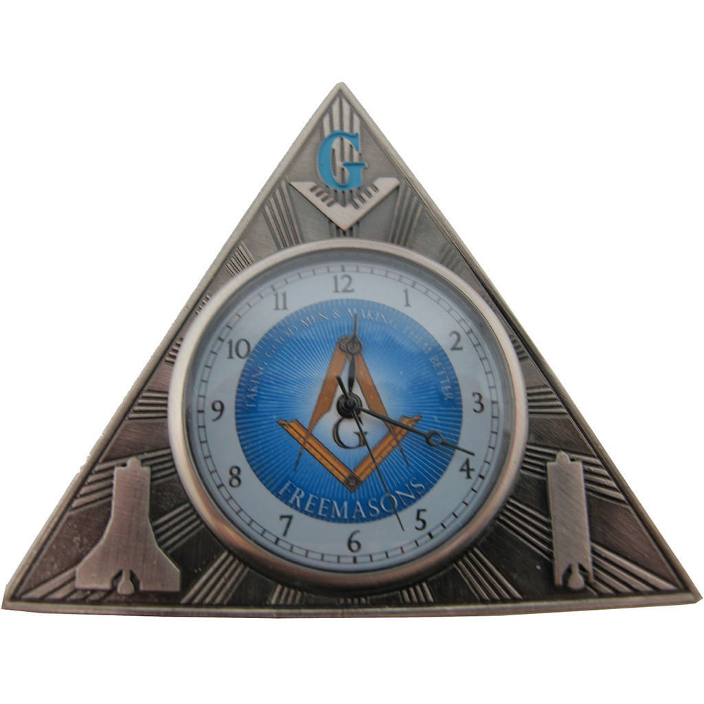 32 Masonic Mini Desk Clock