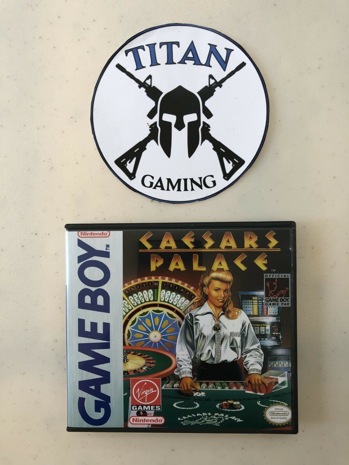 Caesars Palace (Nintendo Game Boy, 1989)