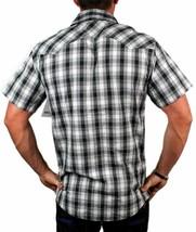 Levi's Men's Cotton Short Sleeve Button Up Casual Dress Shirt 3LYSW061CC-GRY image 2