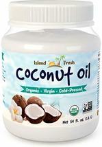 Island Fresh Superior Organic Virgin Coconut Oil, 54 Ounce - $26.40
