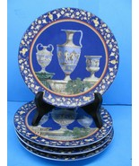 "Gloria Bayreuth Decorative Mythology Collection (Set of 4) 7.5"" Wall plates - $87.22"