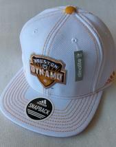 Adidas MLS Houston Dynamo White Soccer Hat Cap Snap Back Flat Brim One ... - $20.00