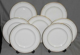 Set (7) 1997 Royal Doulton NAPLES PATTERN Dinner Plates MADE IN ENGLAND - $227.69