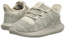 adidas Originals Little Kids Tubular Shadow Sneaker Light Brown/Black BB... - $52.06