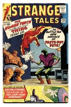 STRANGE TALES #124 comic book 1964-DR STRANGE--HUMAN TORCH THING VG - $31.53