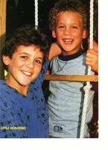 Fred Savage Ben Savage Alyssa Milano teen magazine pinup clipping super hard fin