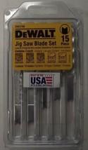 DEWALT DW3798 U-Shank Jigsaw Blades Set (15 Blades) USA - $11.88