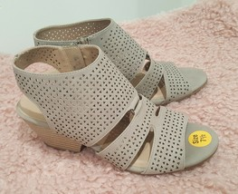 SOUL Naturalizer Womens Dez Open Toe Casual Slide Sandals, Mushroom, Size 9.0 - $26.73