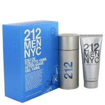 212 Gift Set By Carolina Herrera 3.3 oz Cologne for Men - $84.10