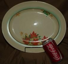 VINTAGE ROYAL DOULTON MAPLE DECO PORCELAIN CERAMIC CHINA PLATES PLATTERS... - $215.95