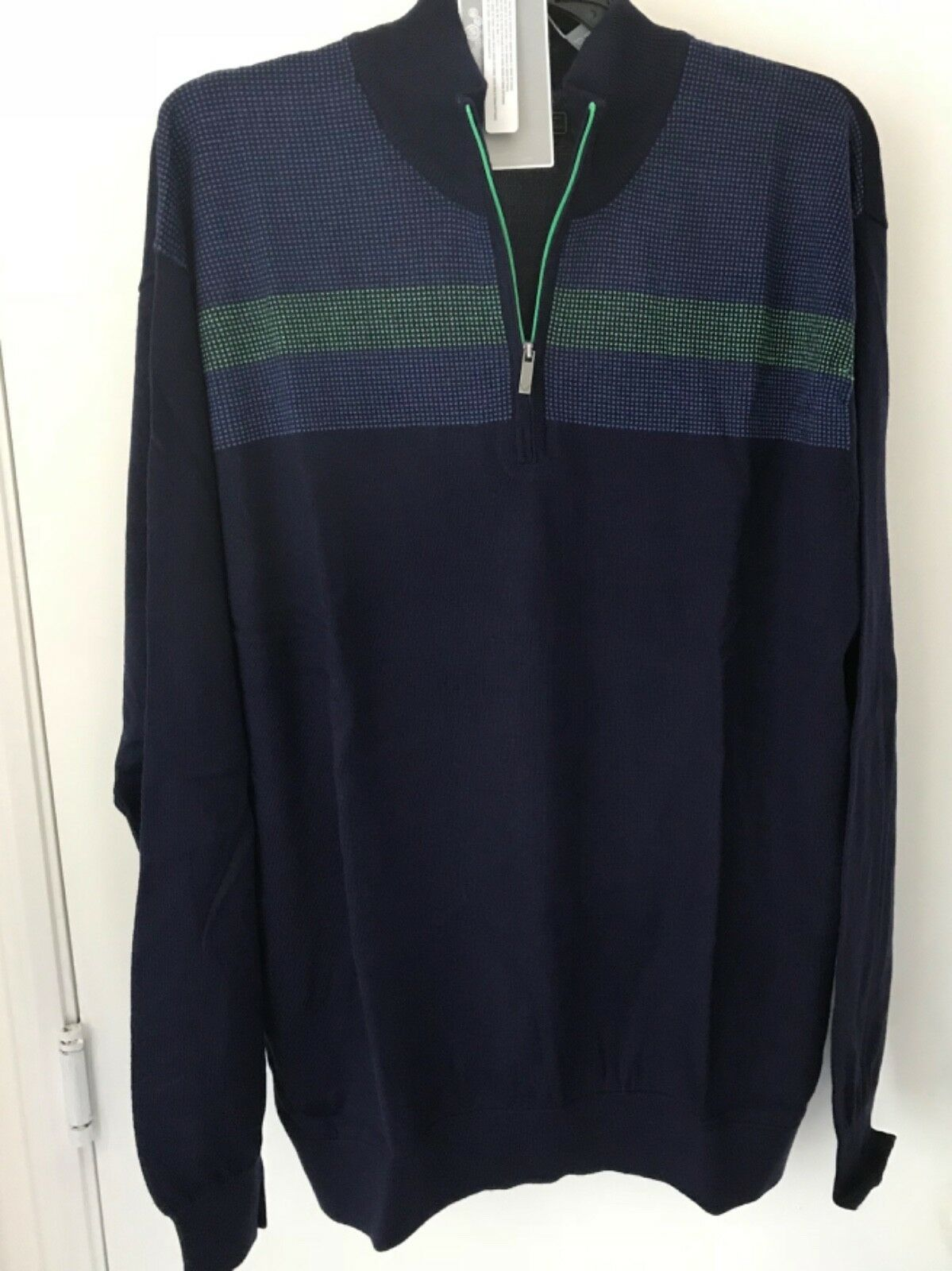 Primary image for CALLAWAY  OPTI THERMAL L ¼ ZIP ACRYLIC WOOL NWT