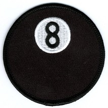 Embroidered Patch Eight Ball Patch - $3.95