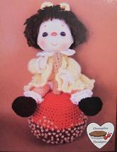 Taffy Apple Doll Crochet Patterns Cupcake Corner Dumplin Designs Vintage - $6.95