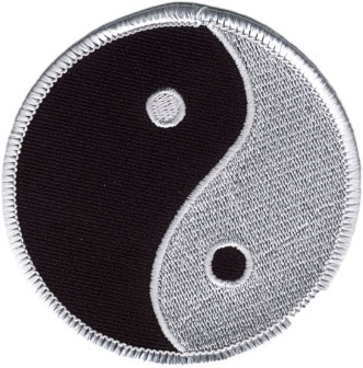 Embroidered Patch Yin Yang Patch