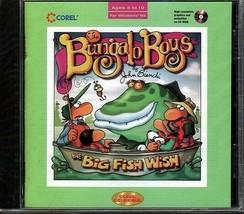 Bungalo Boys: Big Fish Wish (PC-CD, 1996) for Windows - NEW Sealed JC - $4.98