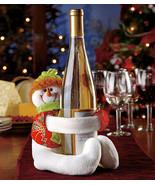 Snowman Wine Bottle Hugger Holder - $12.75