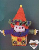 Lollipop Doll Crochet Patterns Cupcake Corner Dumplin Designs Vintage - $6.95
