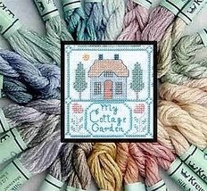 Cottage Colors Kreinik Silk Mori Collection 25 1/2 skeins cross stitch K... - $36.65