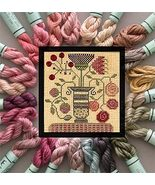 Colonial Milkpaint Kreinik Silk Mori Collection 25 1/2 skeins cross stit... - $36.65