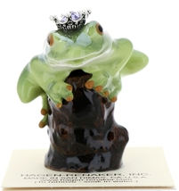 Hagen-Renaker Miniature Tree Frog Figurine Birthstone Prince 06 June Alexandrite - $15.96
