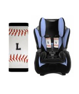 PERSONALIZED BABY TODDLER CAR SEAT STRAP COVERS STROLLER BASEBALL - $13.21