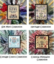 BUNDLE Kreinik Silk Mori Collections silk floss cross stitch Kreinik - $130.24