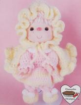 PINK LEMONADE DOLL Crochet Patterns CUPCAKE CORNER Dumplin Designs VINTAGE - $6.95