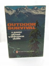 Vintage Avalon Hill 1972 Outdoor Survival Board Game COMPLETE Never played  - $37.62