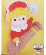 POPCORN DOLL Crochet Patterns CUPCAKE CORNER Dumplin Designs VINTAGE Bas... - $6.95
