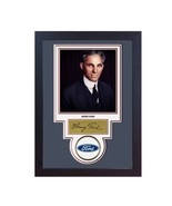 Henry Ford Autograph print signed photo autographed poster FRAMED - $19.27