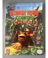 Prima Games Guide, Donkey Kong Country Returns Premiere Edition Strategy... - $11.75