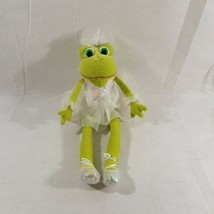 "Russ Berrie Green Ballerina - BETTINA - Frog Plush 13"" Stuffed Animal -... - $9.49"