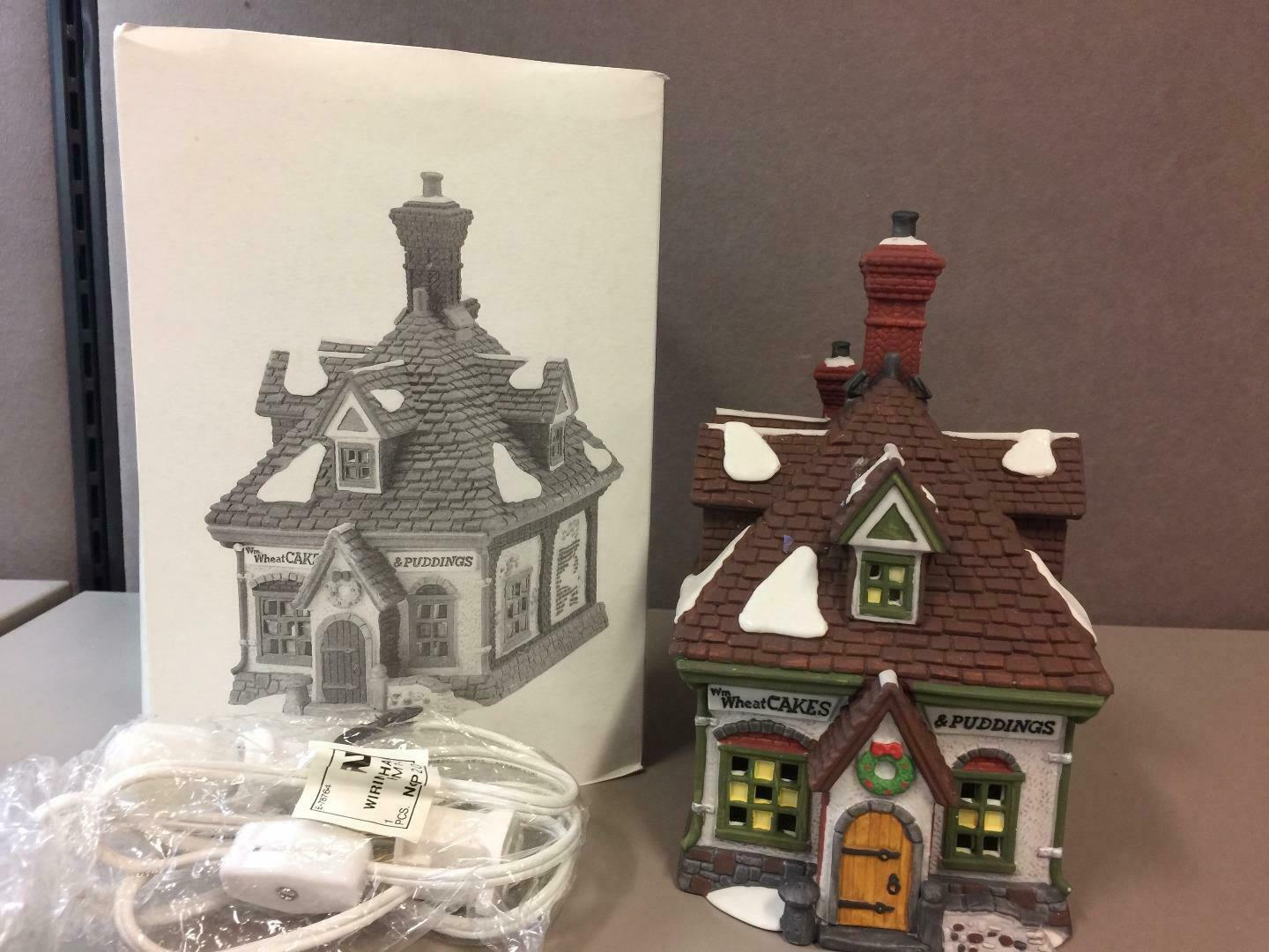 Primary image for Dept 56 Dickens Village ~WM. Wheat Cakes & Puddings ~ In Original Box #58084