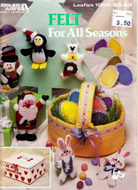 FELT FOR ALL SEASONS HOLIDAY FELT CRAFTS - $4.50