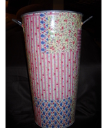 Shabby Cottage Chic Vase - Metal - $14.00