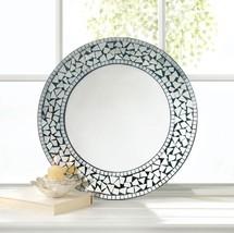 Round Mosaic Wall Mirror - $63.43