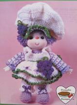 Grape Jelly Doll Crochet Patterns Lollipop Lane Dumplin Designs Vintage - $6.95