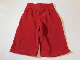 The Children's Place Baby Boy's Active Fleece Sweat Pants Red 6-9 Months NWT - $13.35