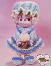 SHERBERT ICE DOLL Crochet Patterns LOLLIPOP LANE Dumplin Designs VINTAGE - $6.95