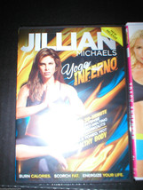 New DVD 3 Lot Yoga Shed & Shred Method Jillian Michaels Tracy Anderson 6 Workout image 2