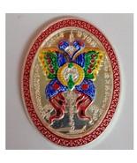 Kruba Krissana Thai Charming Amulet Pendant the King Butterfly Coin Teap... - $298.88