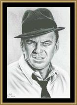 Hollywood Greats Ole Blue Eyes Frank Sinatra cross stitch chart Mystic Stitch - $14.40